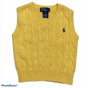 Polo by Ralph Lauren Cable Knit Sweater Vest